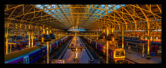 Platform 7 & 6 (Kev Walker ¦ 8 Million Views..Thank You) Tags: architecture canon1100d canon1855mm citycentre england hdr kevinwalker lancashire manchester northwest panorama panoramic photoborder piccadillystation railwaylines railwaystation sky skyline trains transport