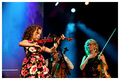 Mary Frances Leahy and Natalie MacMaster