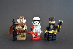 Different Kinds of Danger (th_squirrel) Tags: lego star wars rebel imperial force awakens 7 resistance trooper brickarms