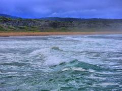 sml-fhdr-DSCN0166 (elphweb) Tags: roughseas roughsea ocean nsw australia sea water waves breakers storm coast coastal falsehdr fhdr bigwaves bigsurf surf foam mist