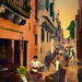 Digital+Oil+Painting+of+a+Venice+Vegetable+Stand+by+Charles+W.+Bailey%2C+Jr.