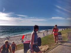At the beach (sander_sloots) Tags: beach cottesloe perth indian ocean people strand bikini woman guy men lady mensen zee indische oceaan candid