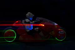 Let's go Streaking! (katsuboy) Tags: anime japan starwars motorcycle akira kaneda scouttrooper sideshowcollectibles sideshowtoys kanedasbike