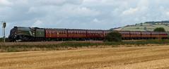 Union of South Africa on the Royal Duchy railtour (philwakely) Tags: train pacific rail railway trains steam railtour a4 steamtrains steamlocomotive lner 60009 unionofsouthafrica uksteam a4pacific stokecanon royalduchy lnera4