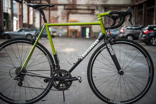 My Green Road Bike