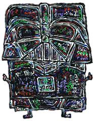 Darth Vader (justinaerni) Tags: art popart darthvader justinaerni