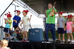 Kid's Cookie Break Fest 15 (wjtlphotos) Tags: costumes horse music house cars car festival kids fun fire zoo actors cookie break police games riding shirts petting fest department bouncy pedal kcb actresses 2015 phredd wjtl