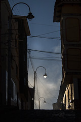 IMG_4962Afinal (mikevillarroel1) Tags: luces colonial bolivia turismo ocaso sombras calles sucre chuquisaca patrimonio faroles charcas