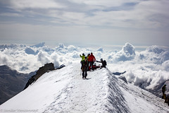 Allalinhorn (4027m) summit (Unliving Sava) Tags: summer mountains alps montagne schweiz switzerland suisse hiking bergen alpen wallis ch valais zwitserland allalinhorn saasalmagell saastal mittelallalin