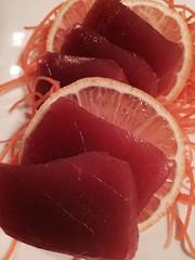 Green Wasabi Tuna (alpalmer71) Tags: food green beach florida fort sashimi wasabi tuna walton