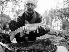 20150919-GR010238-Edit (fleetingphotons) Tags: ricohgr bw wasingestate fishing fish barbel 4lb me kennet warrenbeat
