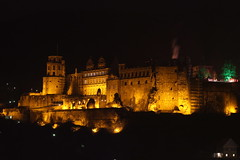 Heidelberg Castle (mr-mojo-risin) Tags: longexposure castle night germany ruin heidelberg