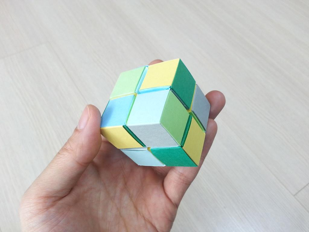 Кубик рубика из бумаги своими руками 100