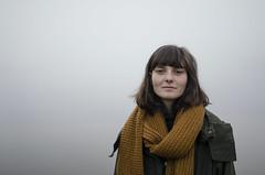 Matilda (Lisa Josefsson) Tags: morning portrait mist lake water fog early duck friend matilda be stil