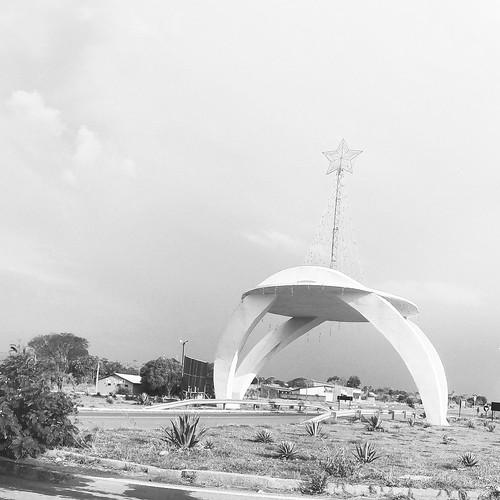 Portal de entrada da cidade de Alto Paraíso de Goiás