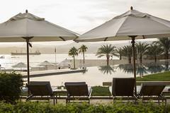 Al caer la tarde (Antonio Campoy Ederra) Tags: mar redsea jordan vacaciones aqaba jordania marrojo hotelkempinski