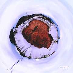 Tiny Planet (Vineeth Jaganathan) Tags: art nature creativity photography globe view 360 round planet pluto degree possibilities tinyplanet vineeth iphoneography plutoart
