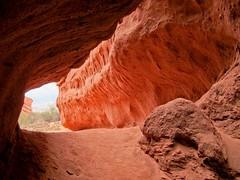 Quebrada de las Conchas La Punilla cave, Argentina. Photo by Miguel Vieira