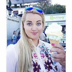 The best ice cream ever!!!!! #mallorca... (irminastyle) Tags: icecream mallorca palmademallorca majorka besticecreamever omnomnom uploaded:by=flickstagram instagram:photo=958810255711584168187243118 instagram:venuename=palmademaillorca instagram:venue=706150759