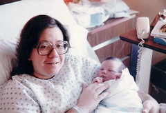 Matthew's First Day (P. Goldman) Tags: park hospital december pennsylvania hill birth 16 1983 carole rolling elkins elkinspark pgoldman rollinghillhospital