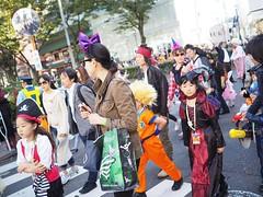 ขบวนพาเหรดฮาโลวีน #halloween #japan