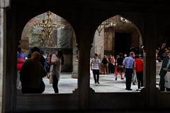 Arches in Istanbul (marinela 2008) Tags: museum architecture turkey basilica istanbul hagiasophia ayasofia byzantinestyle turki isidoreofmiletus anthemiusoftralles imperialmosque christianpatriarchal
