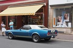Ford Mustang 302, 1972, V8 (gunnar_fuchs) Tags: auto ford frankfurt oldtimer mustang frankfurtsachsenhausen fordmustang302 3trkenundeinbaby
