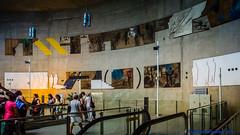 So Paulo, Brazil: Linha 2 (Verde) Estao Vila Prudente mural of paintings (nabobswims) Tags: brazil station subway br metro sopaulo ubahn estao lightroom nabob estaovilaprudente nabobswims