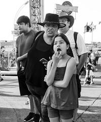 D7K_9165_ep_gs (Eric.Parker) Tags: cne 2015 canadian national exhibition fair fairgrounds rides ferris merrygoround carousel toronto fairground midway bw funfair