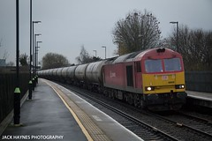 60020 passing Tamworth (Jack Haynes Photography) Tags: trains db class virgin railways 60 dbs 390 tamworth schenker freightliner