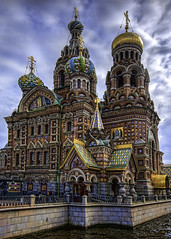 Cathedral of Spilled Blood, St. Petersburg, Russia (Tim Moffatt) Tags: church stpetersburg cathedral russia baltic hdr