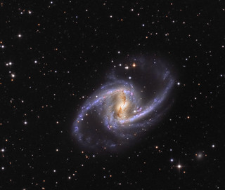 NGC 1365 the Great Barred Spiral Galaxy