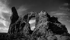 Turret Arch, Arches NP (craiglkirk) Tags: turretarch sandstonearch archesnp nationalparks desert archesnationalpark arches