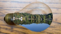 Paysage et Lampe (musette thierry) Tags: musette thierry paysage landscape creation realisation motifié