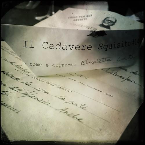 Il Cadavere Squisito #14