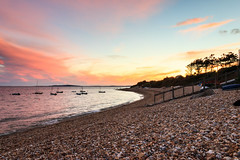 Ringstead Bay (mh218) Tags: dorset portlandbill ringstead alert bay beach boat coast dusk evening jurassic landscape night pebbles promontory rocks scene scenery scenic sea seascape seaside shingle stone sunset twilight view warning water