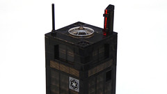 Palpatine Tower: Roof Detail (Magnus the Great) Tags: lego micropolis microscale pluppsala swebrick