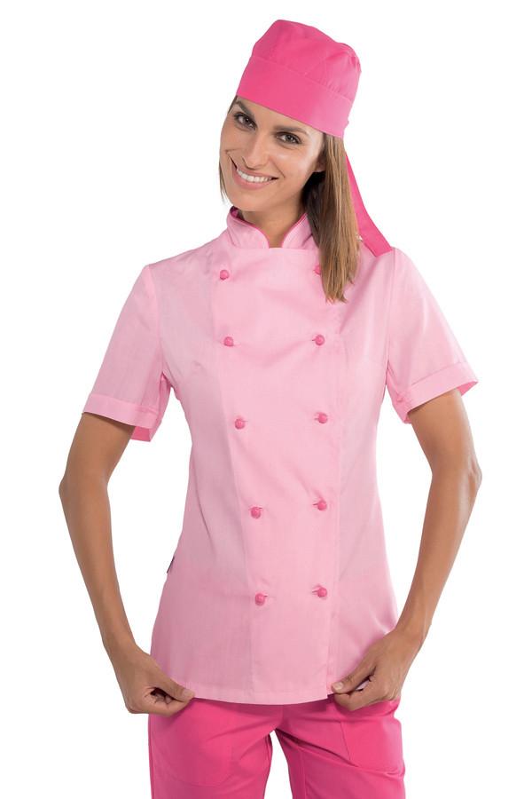 veste de cuisine rose mylookpro tags veste cuisine femme rose