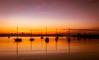 Define serenity! (dmunro100) Tags: sunrise dawn civiltwilight nsw newsouthwales australia batemansbay morning calm peaceful divine boats silhouette
