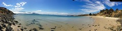 Christmas Day. Opossum Bay panorama.