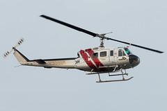 N306SB (sabian404) Tags: n306sb san bernardino county sheriff uh1 uh1h iroquois police helicopter chopper 7120217 portland international airport pdx kpdx
