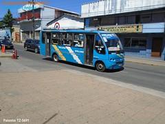 Taxibuses Los Angeles.- (Micros,Buses en La Region Metropolitana de Chile) Tags: induscar caio piccolo