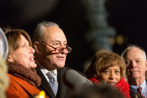Rep. Nancy Pelosi and Senator Chuck Schumer,
