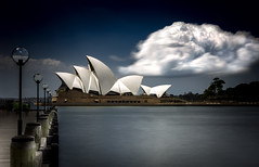 Sydney Opera Cloud (Martin Snicer Photography) Tags: sydneyoperahouse operahouse archtecture sydney australia travel harbour clouds sky artistic fineartphotography art longexposure ndfilter 50mm canon 6d martinsnicer sydneyoperacloud