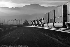 UPRR Eastbound stack at Garnett, CA (Travis Berryman) Tags: unionpacific beaumonthill uprr upyumasub desertrailroading