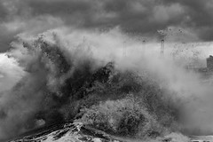 Storms - Wirral 140117 (simonknightphotography) Tags: storms waves liverpool cheshire wirral mersey merseyside