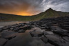 Signs of Light (Dani℮l) Tags: northern ireland landscape giants causeway sunrise daniel bosma atlantic coast rock solid slippery morning autumn europe uk cliff sunlight dramatic sky water sea basalt columns hexagonal