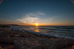 Tel Aviv'n (wdwben) Tags: israel telaviv mediterraneansea mediterranean sea ocean rocks sunset goldenhour magichour