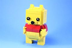 02_Pooh (bbchai) Tags: winnie pooh tiger piglet eeyore lego brickheadz block head disney moc
