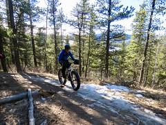 West Bragg Creek Winter Hike - Various trails - Popular fat tire biking area (benlarhome) Tags: braggcreek westbraggcreek alberta canada hike hiking trek trekking trail path